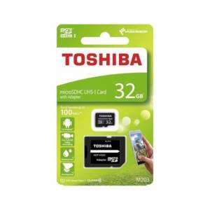Карта памет Toshiba M203 MICRO SD 32GB CLASS 10 UHS-I U1 100MB